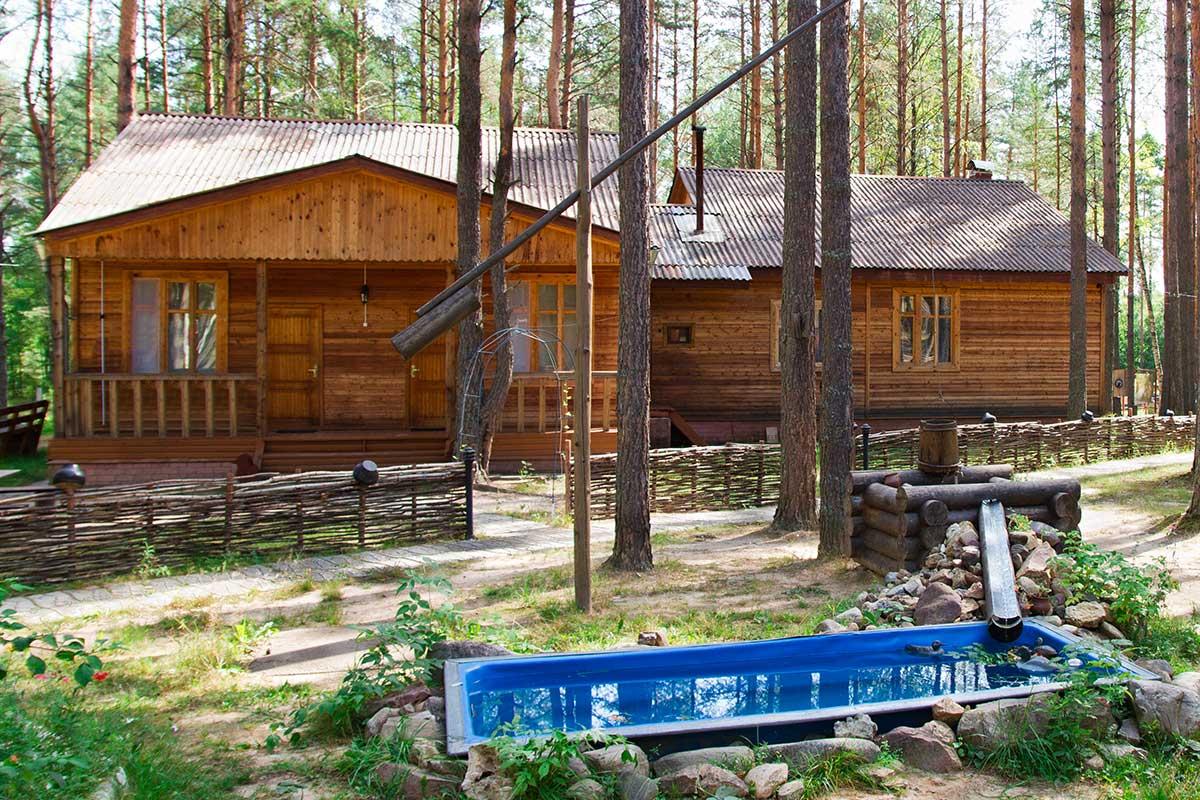 Гостевой дом. Номера класса полу-люкс.База отдыха в Нижегородской области Краснобаковский район